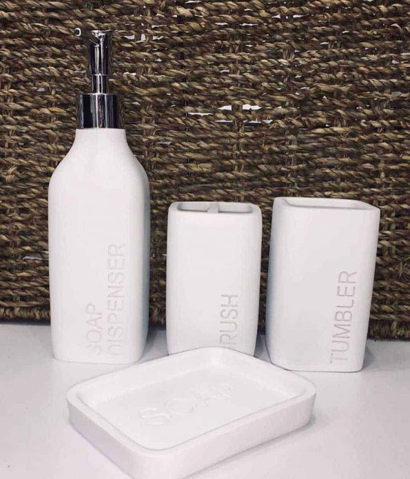 """אביזרים-לאמבטיה-דמוי-בטון-לבן <span class=""""degem"""">דגם אביזרים לאמבטיה - בטון (צבעים)</span>"""