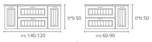 """ארון-אמבטיה-עץ-תלוי-שרטוט-נאפולי <span class=""""degem"""">דגם נאפולי 7053 SHR</span>"""