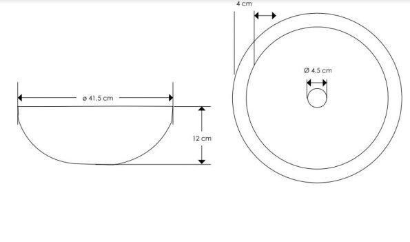 """כיור-בטון-עגול-560103-שרטוט <span class=""""degem"""">דגם ספוט 560103 עגול SH</span>"""