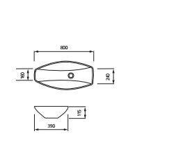 """כיור-מונח-יולנדה-שרטוט <span class=""""degem"""">דגם יולנדה 80 ס""""מ BR</span>"""