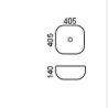 """כיור-מונח-שרטוט-בזיל <span class=""""degem"""">דגם בזיל 40.5 ס""""מ BR</span>"""