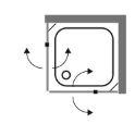 """מקלחון-פינתי-שרטוט-אלפין <span class=""""degem"""">דגם BR 46 שתי דלתות + שני קבועים</span>"""