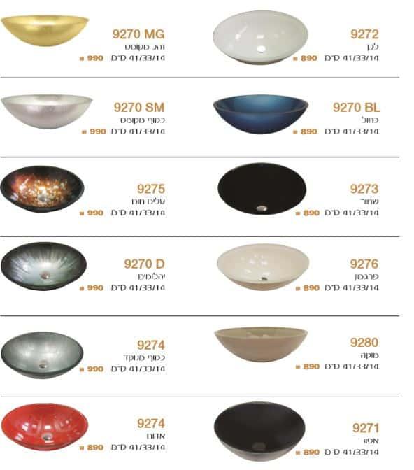"""צבעים-כיורי-זכוכית-44-31 <span class=""""degem"""">דגם סט טופז גדול SO</span>"""