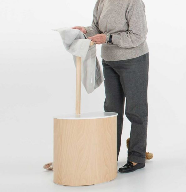 """רונג אביזר אמבטיה <span class=""""degem"""">דגם RUNG כיסא וסל כביסה PL</span>"""