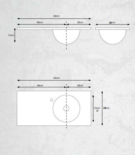 """שרטוט-משטח-זכוכית-אינטגרלי-זוויתן <span class=""""degem"""">דגם זוויתן 60 ס""""מ GOLD</span>"""