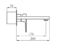 """שרטוט-3716 <span class=""""degem"""">דגם SO 3716 B שחור מט</span>"""