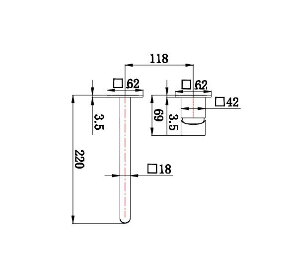 """ש 1205 <span class=""""degem"""">דגם אינטרפוץ עם פיה 1905YB ברונזה SO</span>"""