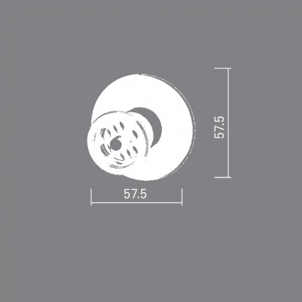 """0707 <span class=""""degem"""">דגם אינטרפוץ 3 דרך 0707BR ברונזה BR</span>"""